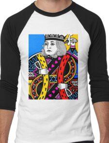 KING OF HEARTS-COLOURS Men's Baseball ¾ T-Shirt