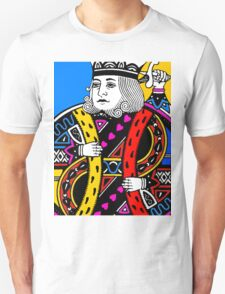 KING OF HEARTS-COLOURS Unisex T-Shirt