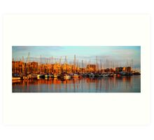 Port Vell - Barcelona Art Print