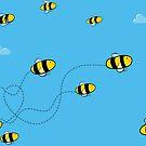 Bees! by puppaluppa