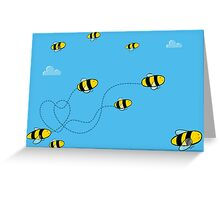 Bees! Greeting Card