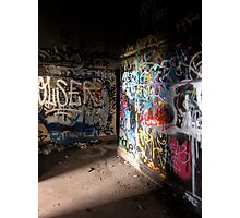 Light in the darkness - Coogee Power Station Photographic Print