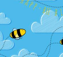 Happ - bee Birthday! Sticker