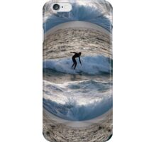 Surfing the Globe iPhone Case/Skin
