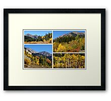 MORE OF MY STOMPING GROUNDS Framed Print