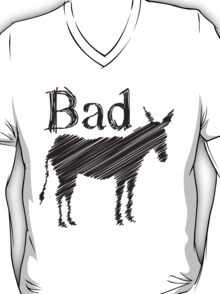 BAD ASS donkey funny design T-Shirt