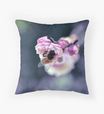 Bee's Journey Throw Pillow