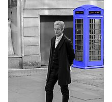 Doctor Who Mad Man In a Blue Box Photographic Print
