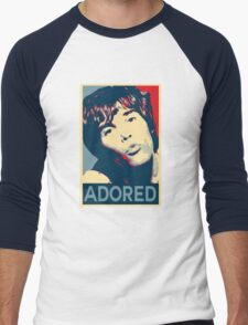 Ian Brown Adored Obey Men's Baseball ¾ T-Shirt