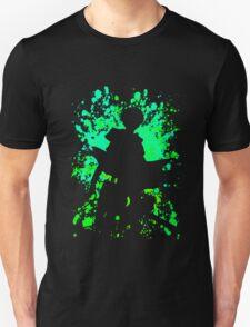 attack on titan levi paint splatter anime manga shirt T-Shirt