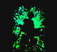 attack on titan levi paint splatter anime manga shirt Unisex T-Shirt