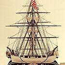 USS Constitution by Nigel Fletcher-Jones