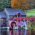 Guildhall Grist Mill by LucyAbrao
