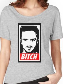 Breaking Bad Jessie Pinkman Obey Bitch Women's Relaxed Fit T-Shirt