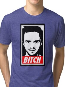 Breaking Bad Jessie Pinkman Obey Bitch Tri-blend T-Shirt