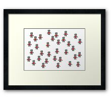Lovebot Framed Print
