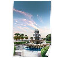 Pineapple Sunset Poster