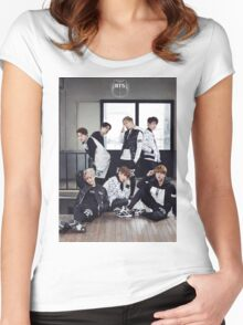 BTS/Bangtan Sonyeondan - Photoshoot 2015 #1 Women's Fitted Scoop T-Shirt