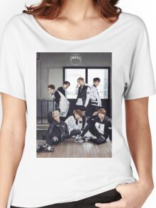 BTS/Bangtan Sonyeondan - Photoshoot 2015 #1 Women's Relaxed Fit T-Shirt