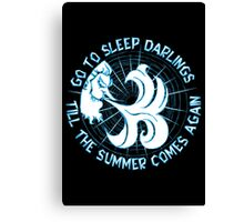 Go to sleep darlings Canvas Print