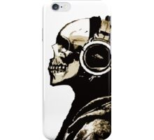 SKULL HEADPHONES  (abel in all colors) iPhone Case/Skin
