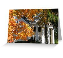 Fall at last Greeting Card