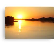 Saturday Sunrise Canvas Print