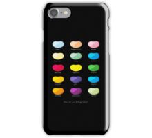 Every emotion beans iPhone Case/Skin