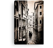 Lone Gondola Canvas Print