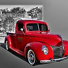 1939 Ford Custom Pickup Truck by TeeMack
