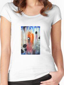 """Safari"" Women's Fitted Scoop T-Shirt"