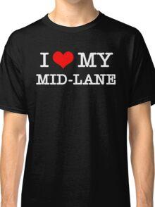 I Love My MID-LANE  [Black] Classic T-Shirt