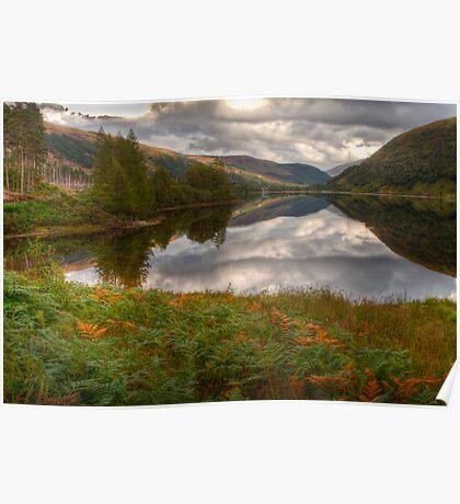 Loch Dughaill, Scotland, UK Poster