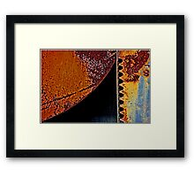 Toothy Tangent Framed Print