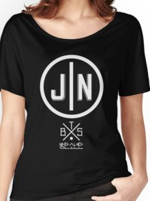 Jin - BTS Member Logo Series (White) Women's Relaxed Fit T-Shirt
