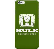 Hulk Honda iPhone Case/Skin