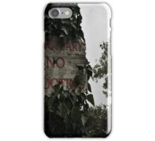 No Shooting iPhone Case/Skin
