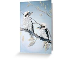 Cool Kookaburras Greeting Card