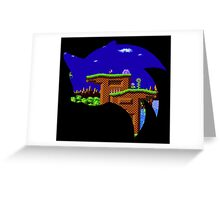 Sonic Green Hill Greeting Card