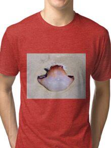 Brown & White Jelly Fish Tri-blend T-Shirt