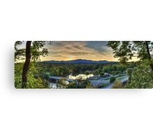 Catskill Moutains Range Canvas Print