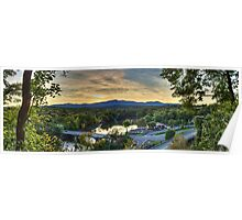 Catskill Moutains Range Poster