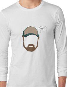 "Bobby Singer ""Idgits"" Long Sleeve T-Shirt"