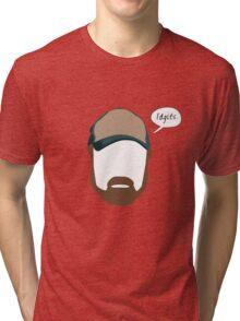 "Bobby Singer ""Idgits"" Tri-blend T-Shirt"
