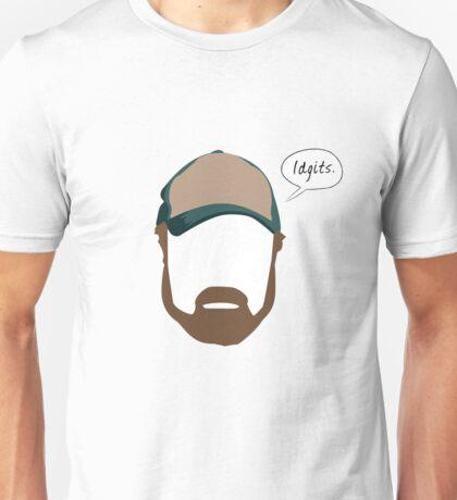 "Bobby Singer ""Idgits"" Unisex T-Shirt"