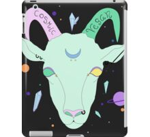 Cosmic Vegan Goat. iPad Case/Skin