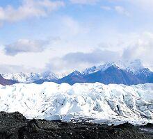 Matanuska Glacier, AK by Kira  Westra