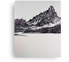 Moonlite  Misty Lagoon - wip 1 Canvas Print