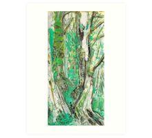 Miss Moss Art Print