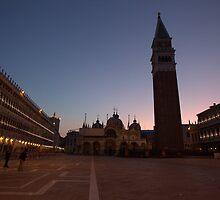San Marco at Dawn by Alfredo Estrella